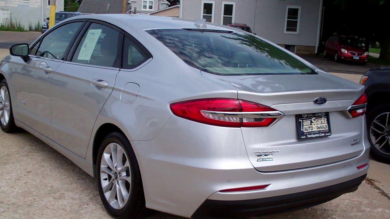 2019 Ford Fusion Hybrid Dekalb IL near Hinckley IL in 2020