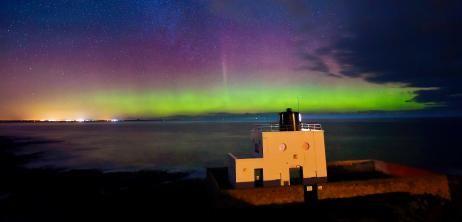 Himmelsspektakel: Nordengland staunt über Polarlichter - SPIEGEL ONLINE - Nachrichten - Wissenschaft