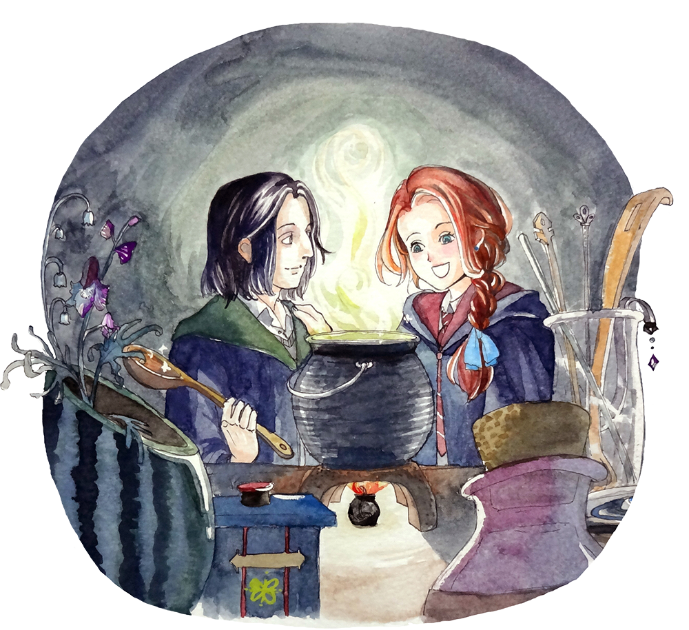 Harry Potter Book Fan Art