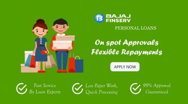 Bajaj Finserv Personal Loan Is A 100 End To End Online Personal Loan Solutions With Instant Approval Therefore All You Need To Do Personal Loans Loan Person