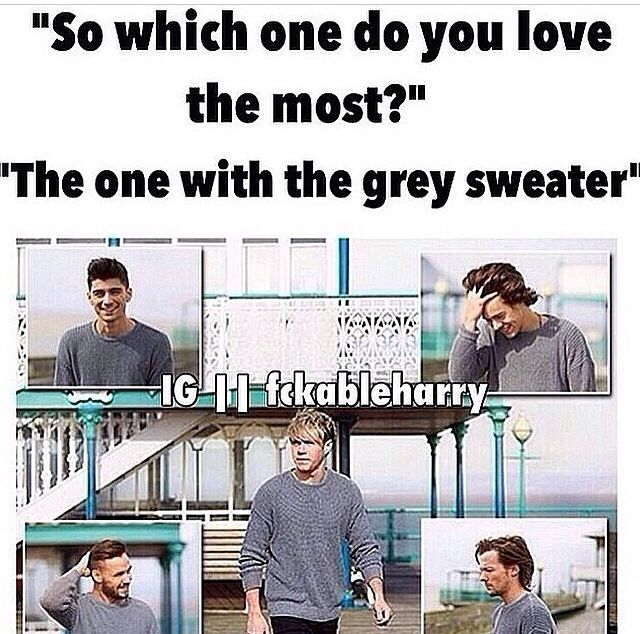 i have a gray sweater just like this and when i seen the video i was wearing pant pants and the sweater it was awesome