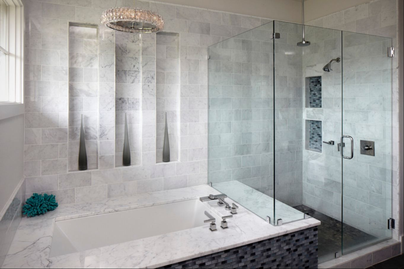 Glass Tile Bathroom Ideas | Download Glass Tile Bathroom Ideas Cool ...