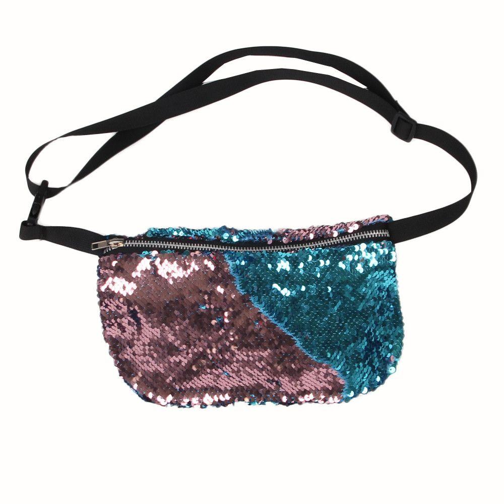 Luxury Handbags Women Waist Pack Designer Bag S Bags Sequins Las