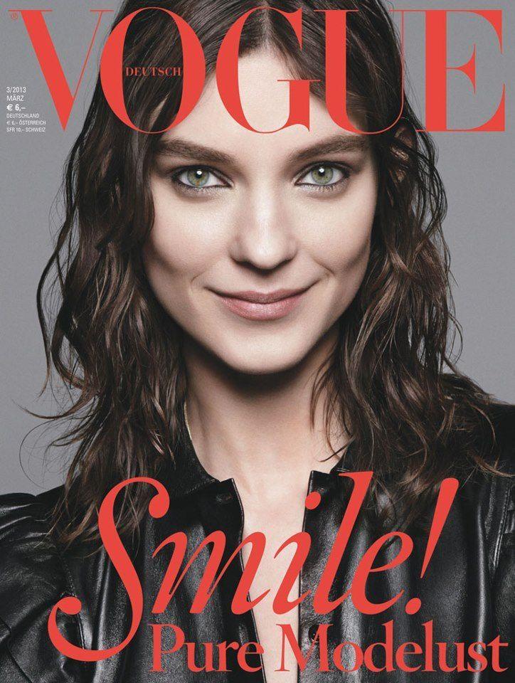 Vogue Germany March 2013 nos gusta esta actitud