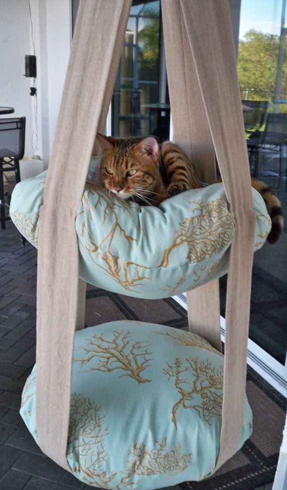 idee f r katzenbaum n hen h keln stricken pinterest katzen katzen spielzeug und katzen bett. Black Bedroom Furniture Sets. Home Design Ideas