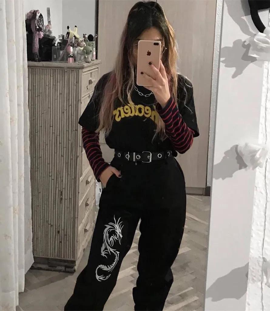 ¡Outfits Aesthetic Grunge que te van a encantar!