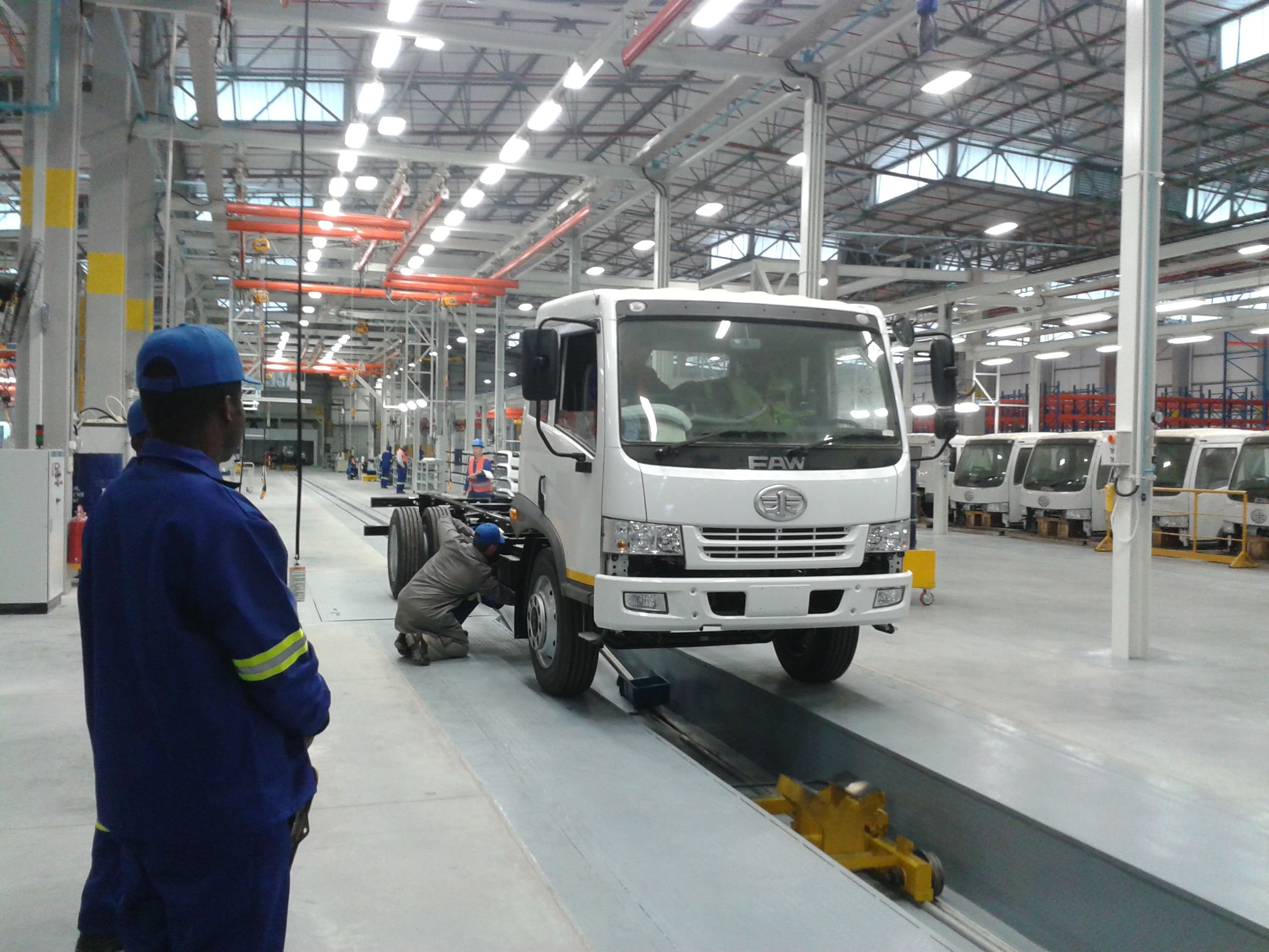First truck to roll of coaga plant production line faw south africa pinterest plants and cars