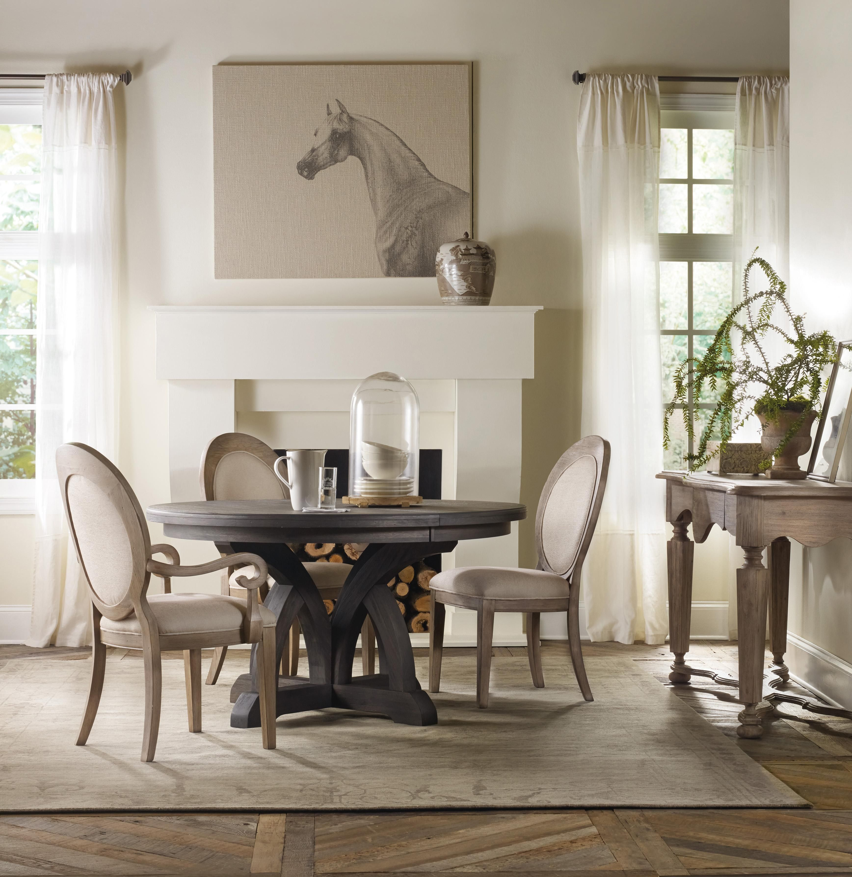 Shop For Hooker Furniture Corsica Oval Back Arm Chair, And Other Dining  Room Chairs Furniture.