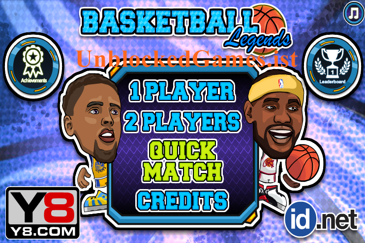 Play Basketball Legends Unblocked For Free At Unblocked Games Basketball Legends Basketball Games For Kids Yandere Games