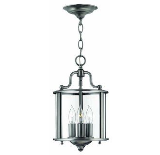 View The Hinkley Lighting H3470 3 Light Indoor Lantern Pendant From Gentry Collection At LightingDirect