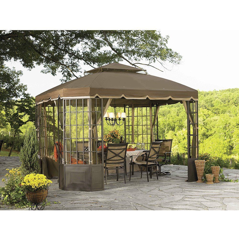 Amazon.com Sunjoy Replacement Canopy Set for Go Bay Window Gazebo Garden u0026  sc 1 st  Pinterest & Amazon.com: Sunjoy Replacement Canopy Set for Go Bay Window Gazebo ...