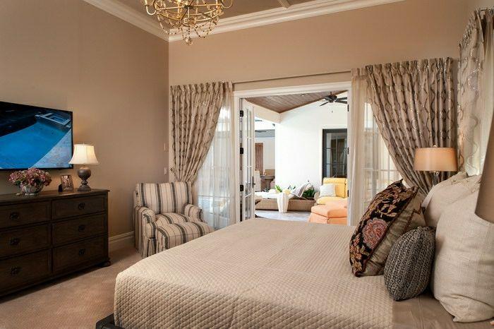 wandfarbe cappuccino 30 gem tliche foto beispiele einrichten und wohnen. Black Bedroom Furniture Sets. Home Design Ideas