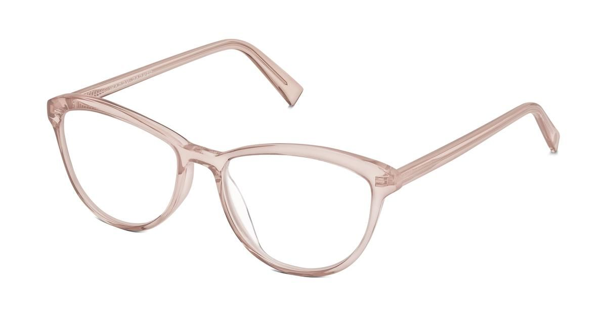 640b3260490 Louise Eyeglasses in Rose Water for Women. A cat-eye frame with an  extra-delicate silhouette