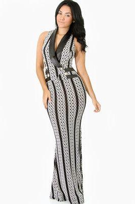 5ac6b65cd99 GITI ONLINE Ladies Women Nightclub Casual Sleeveless Chain Empire Dress