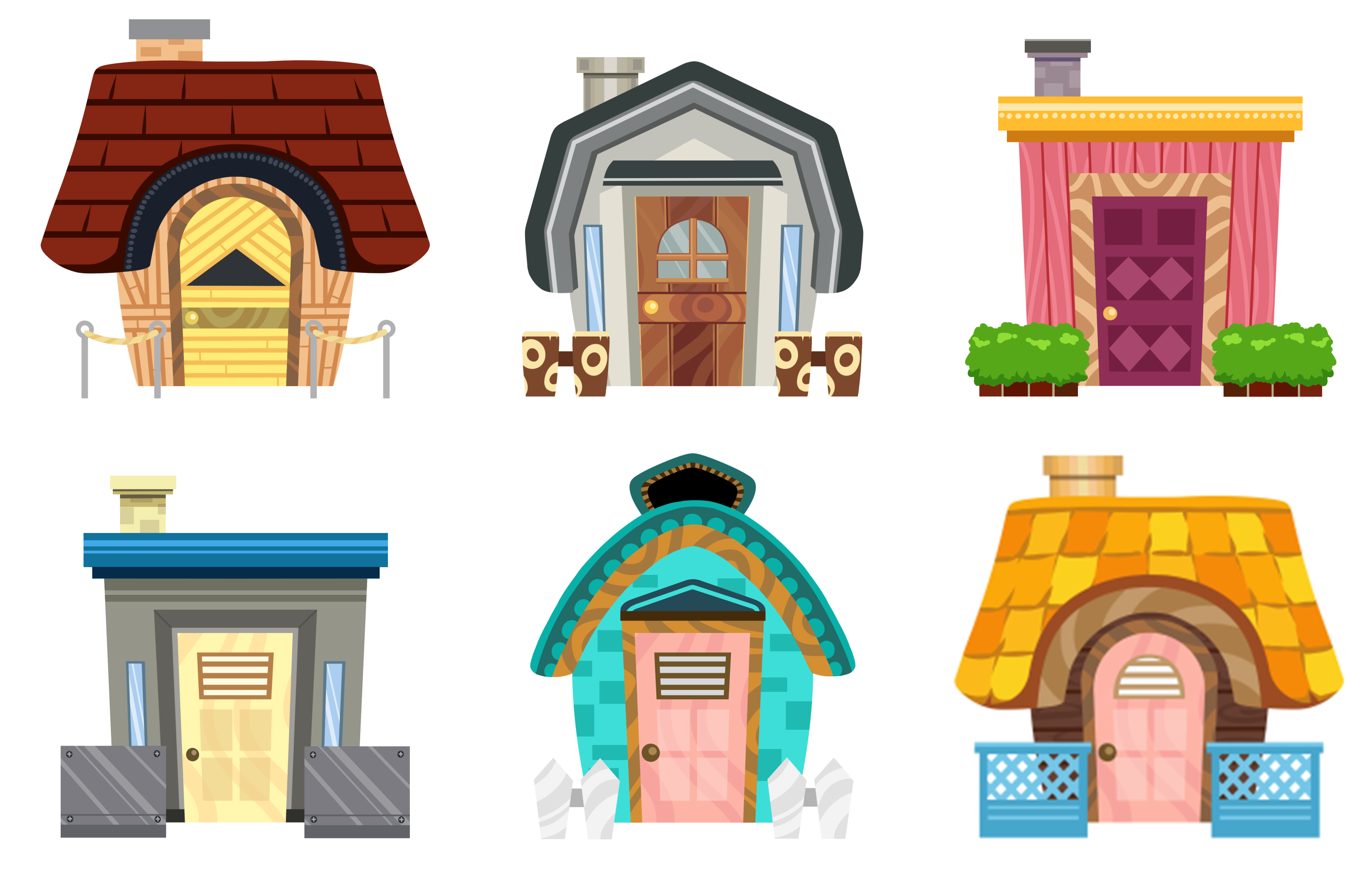 Animal Crossing Villager Houses! Can You Guess Who Owns