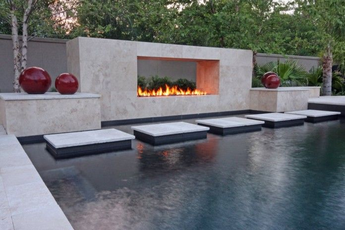 Outdoor fireplace designs and Fireplace design