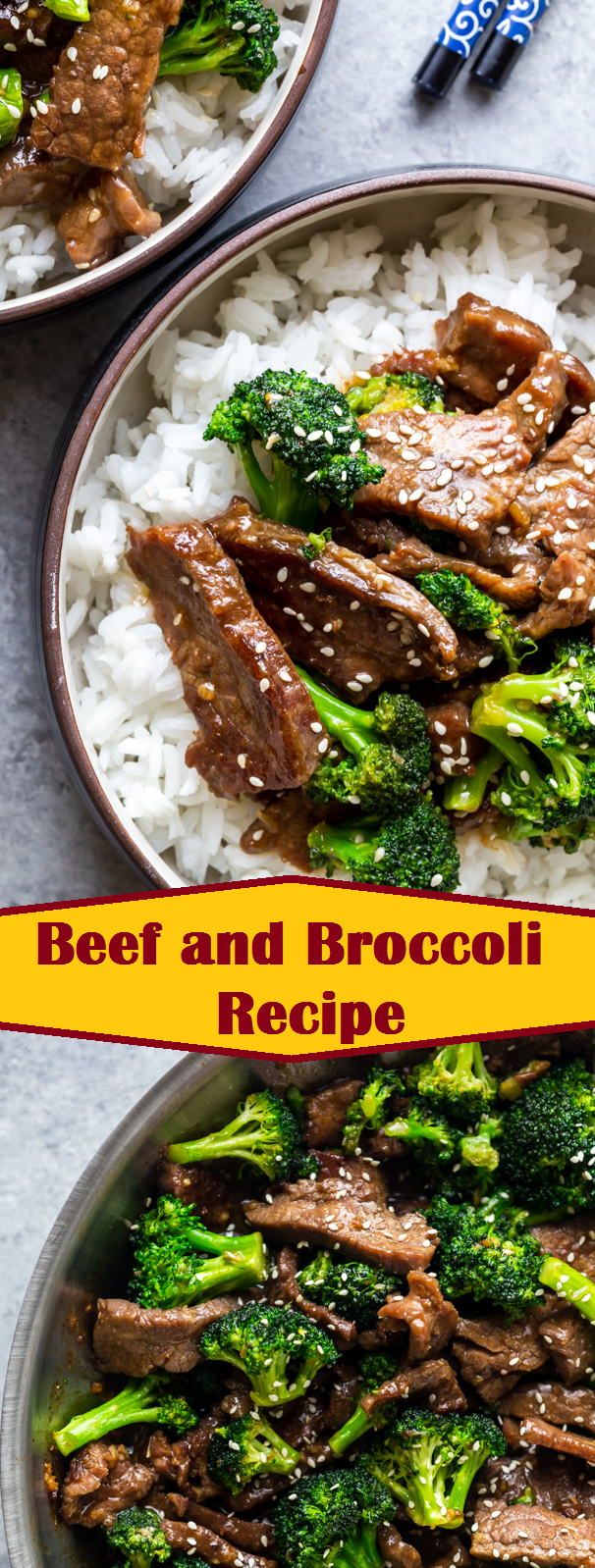 Beef and Broccoli Recipe |  #beef #beefandbroccoli