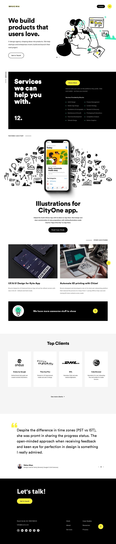 Brucira Land Book The Finest Hand Picked Website Inspirations Page Design Creative Web Design Landing Page Design
