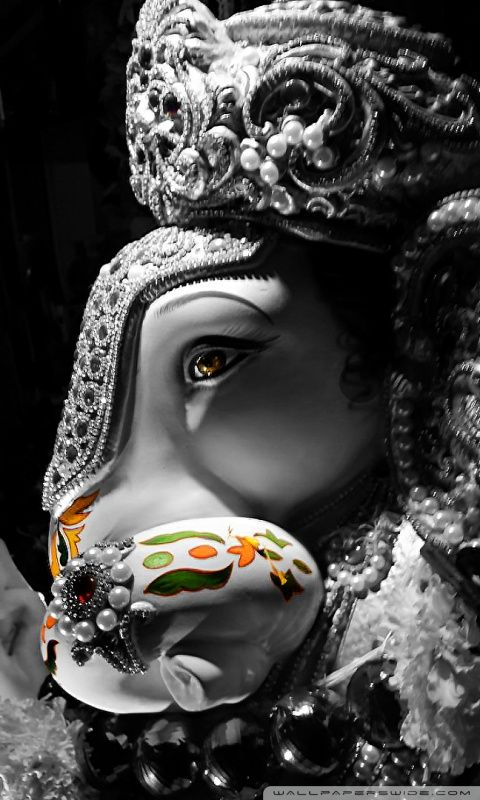 Ganpati Bappa Hd Desktop Wallpaper Mobile Ganpati Bappa Wallpapers Ganesh Wallpaper Ganesha