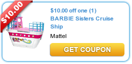10 00 Off One 1 Barbie Sisters Cruise Ship Printable Coupons Coupons Extreme Couponing
