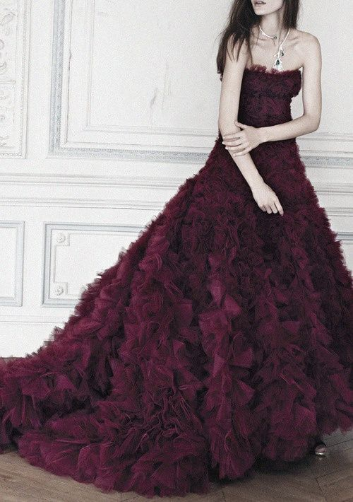 Dark Violet Purple Wedding Gown Me Omg It Not Just Me Who Doesn T