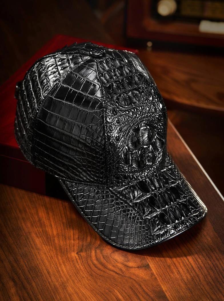 39da32c71e2 Alligator Skin Hat