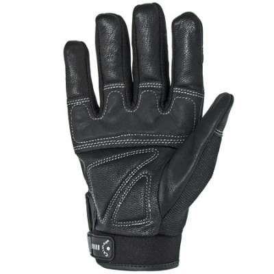 Caiman Gloves Men S Fleece Lined Goat Grain Leather