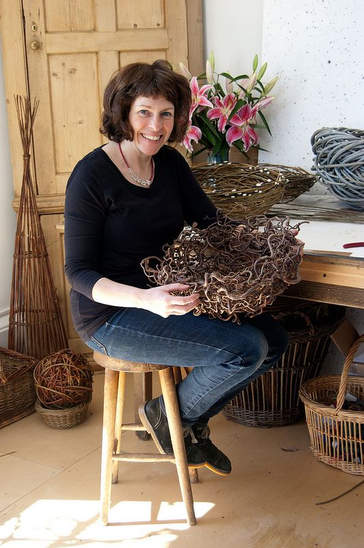 Lizzie Farey in her studio | Flickr - Photo Sharing!