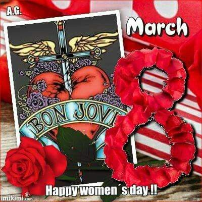 International Women's Day   Love The Jovi Boys 8th March 2016