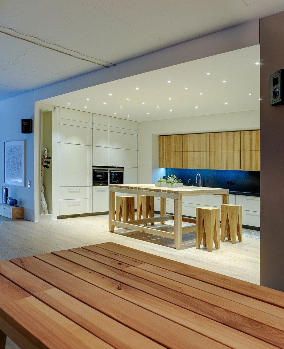 100 idee di cucine moderne con elementi in legno   Studio ...