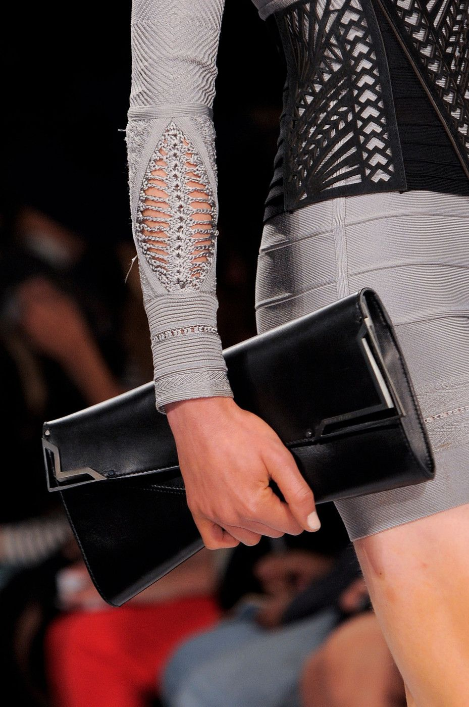 Hervé Léger by Max Azria at New York Spring 2014 (Details)