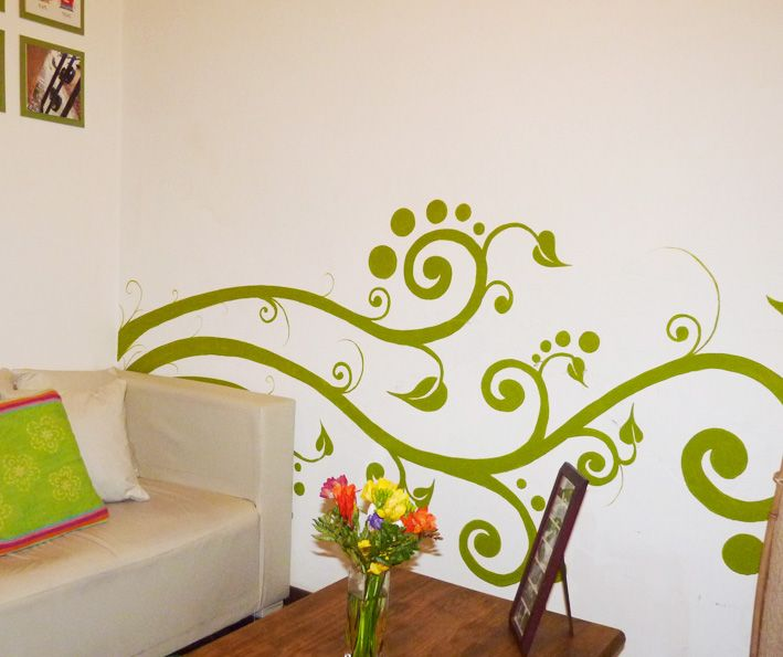 las chancletas del chanchito: A pintar Paredes!!!   cuarto de ...