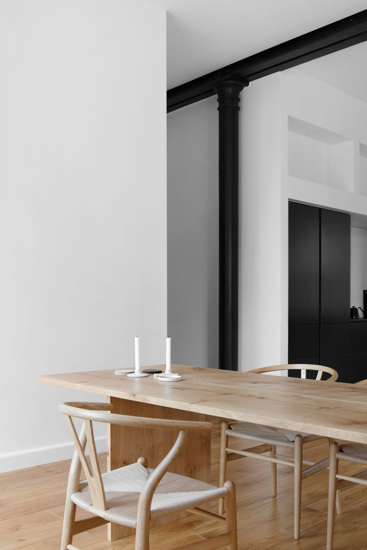 New Bespoke Dining Table In Dinesen Heart Oak For Our Copenhagen