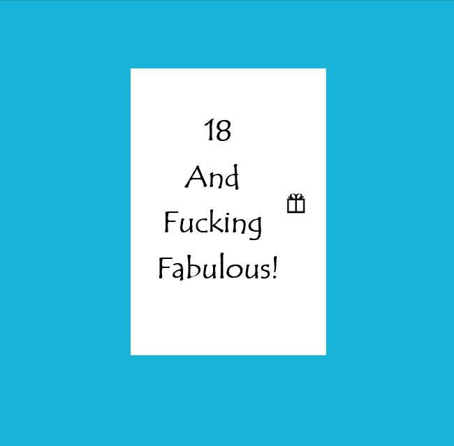 18th Birthday Card18th Gift For Herfunny 18thfunny 18th Birthday