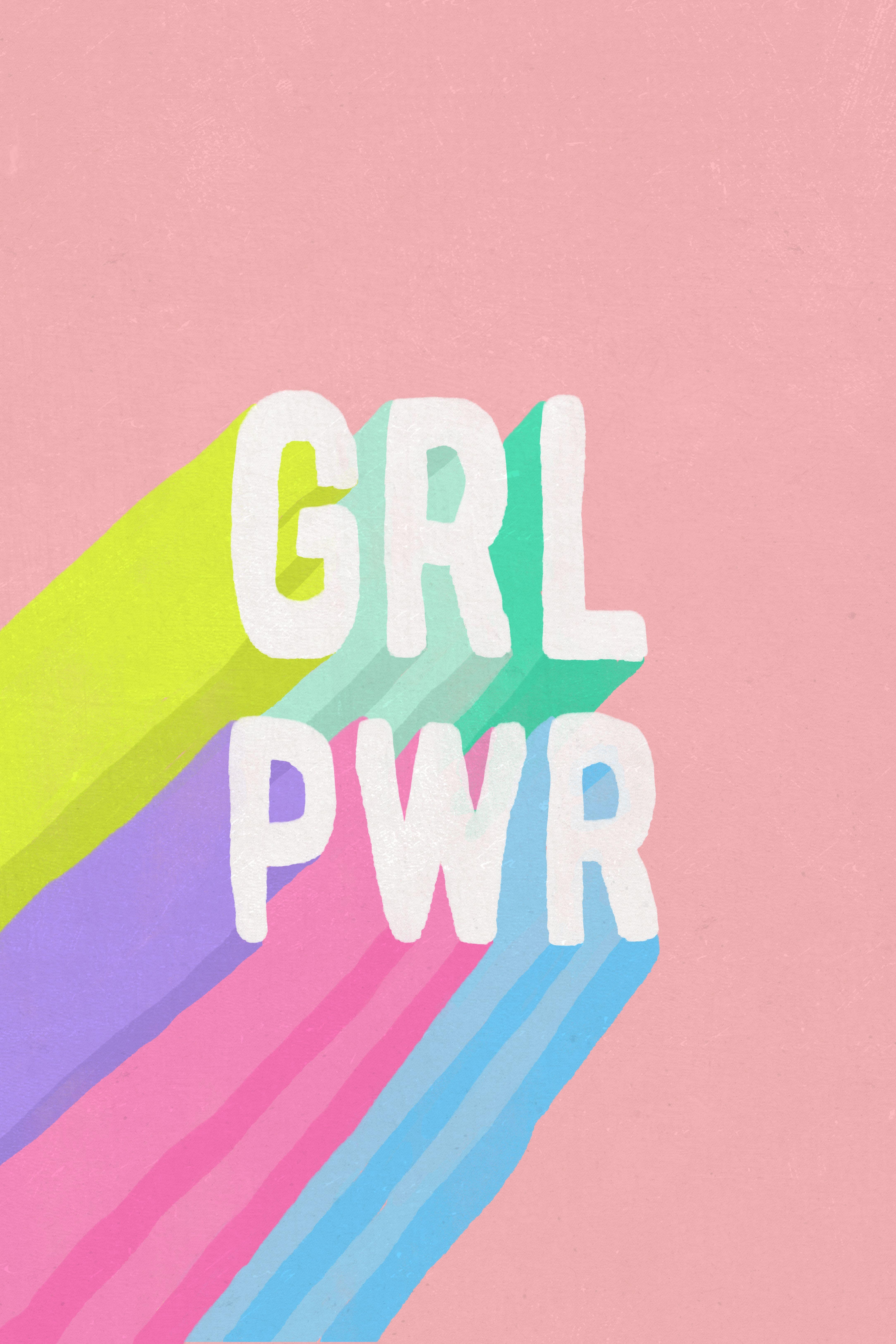 Girl Power Pillow Girl Power Art Feminist Art Girl Power Quotes