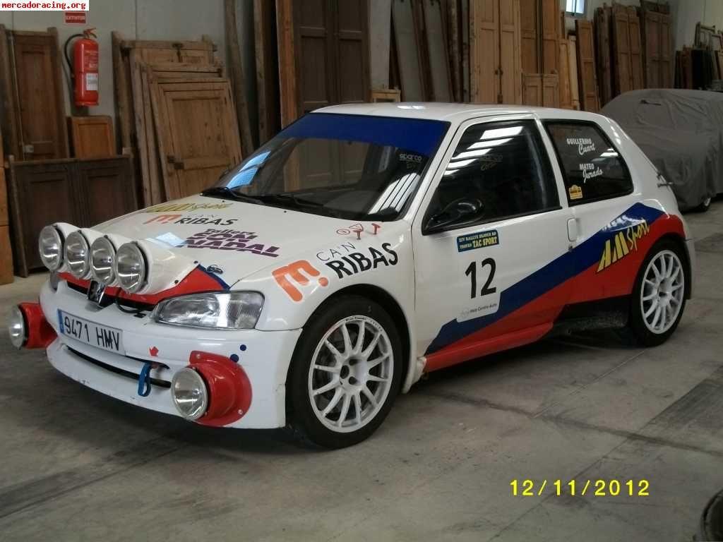 Peugeot 106 Maxi - Venta de coches de Competición Peugeot.