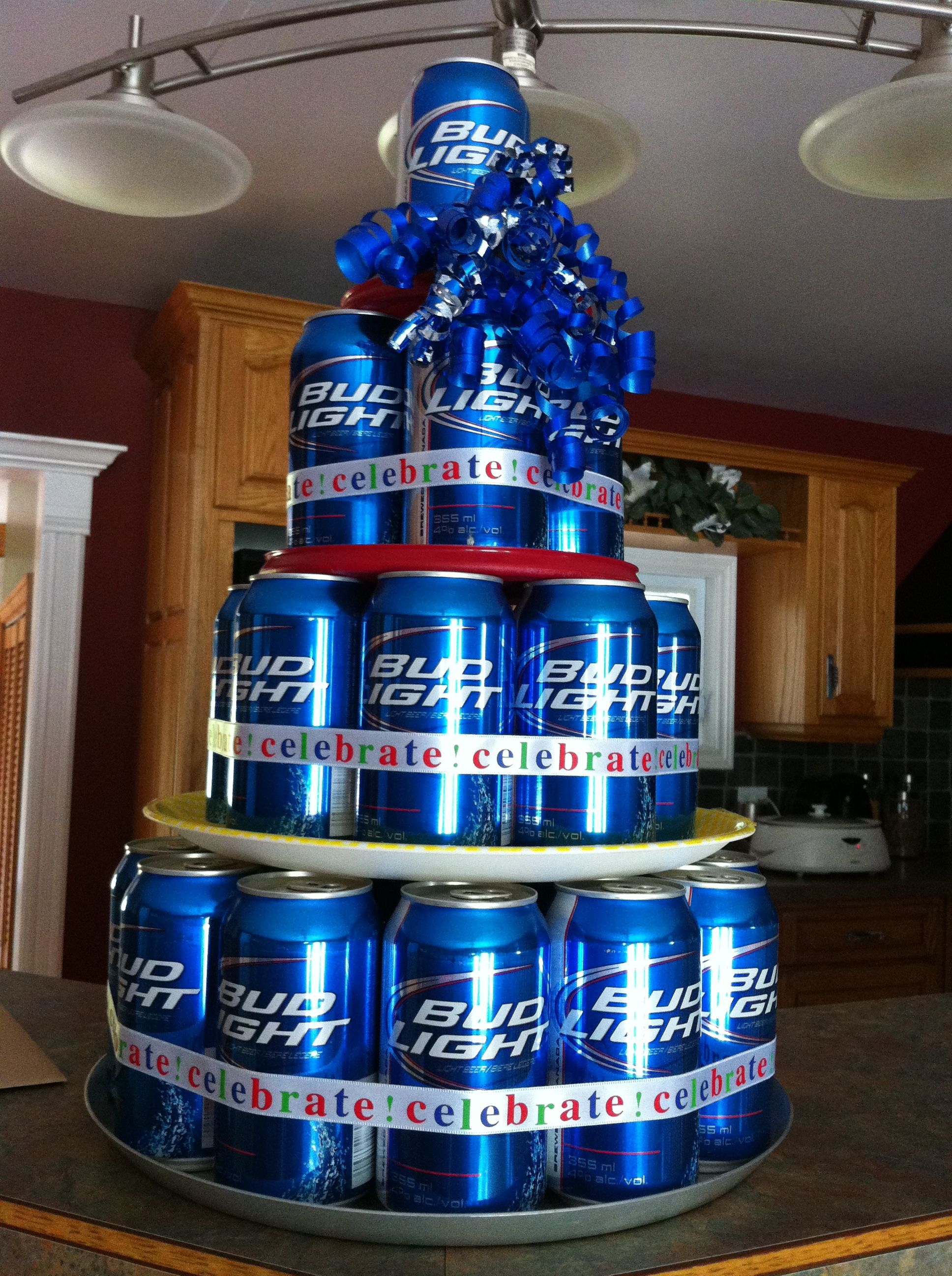 Part Of Mikes 31st Birthday Gift BEER CAKE