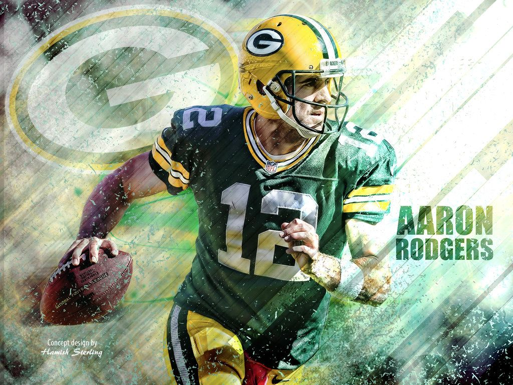 Aaron Rodgers Wallpaper Green Bay Packers By Hps74 D9dgm57 Jpg 1024 769 Aaron Rodgers Nfl Football Wallpaper Football Wallpaper