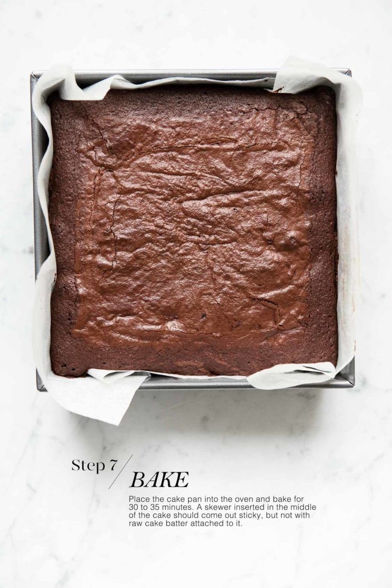 Easy Chocolate Brownies Easy Chocolate Brownies with step-by-step photos