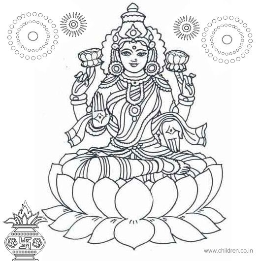 Nice Diwali Coloring Pages