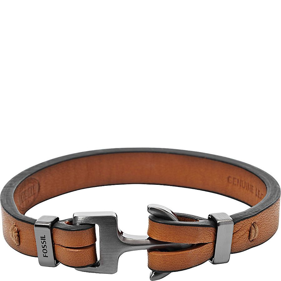 2dd145223d9ff2 Fossil Anchor Bracelet | body accessories 1 | Bracelets, Bracelets ...