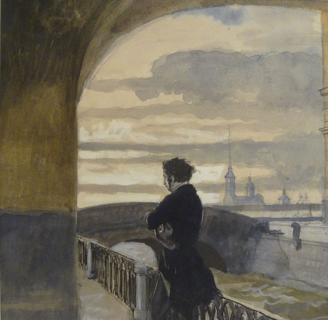 Romantiek Literatuur Pushkin To Saint Petersburg By Alexandre Benois Russian