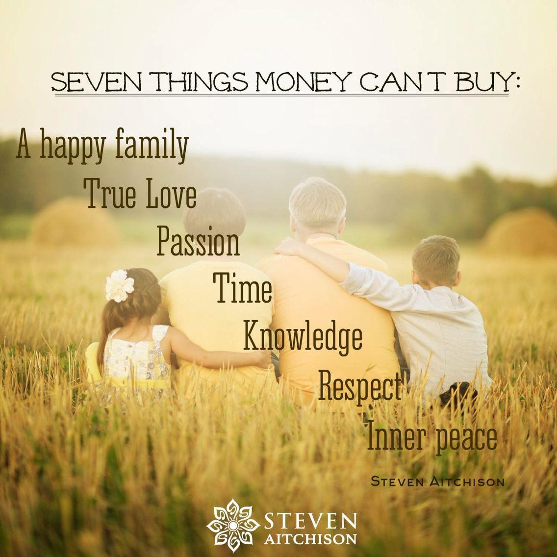 7 things money can t