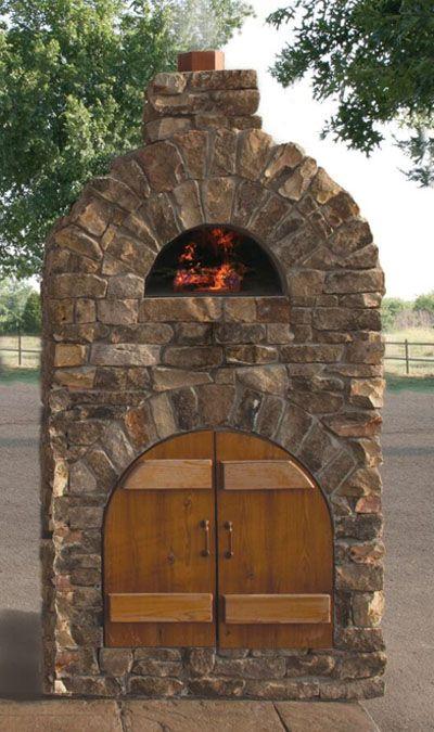 Mezzo™ Pizza Oven in Natural Stone Outdoor designs Pinterest