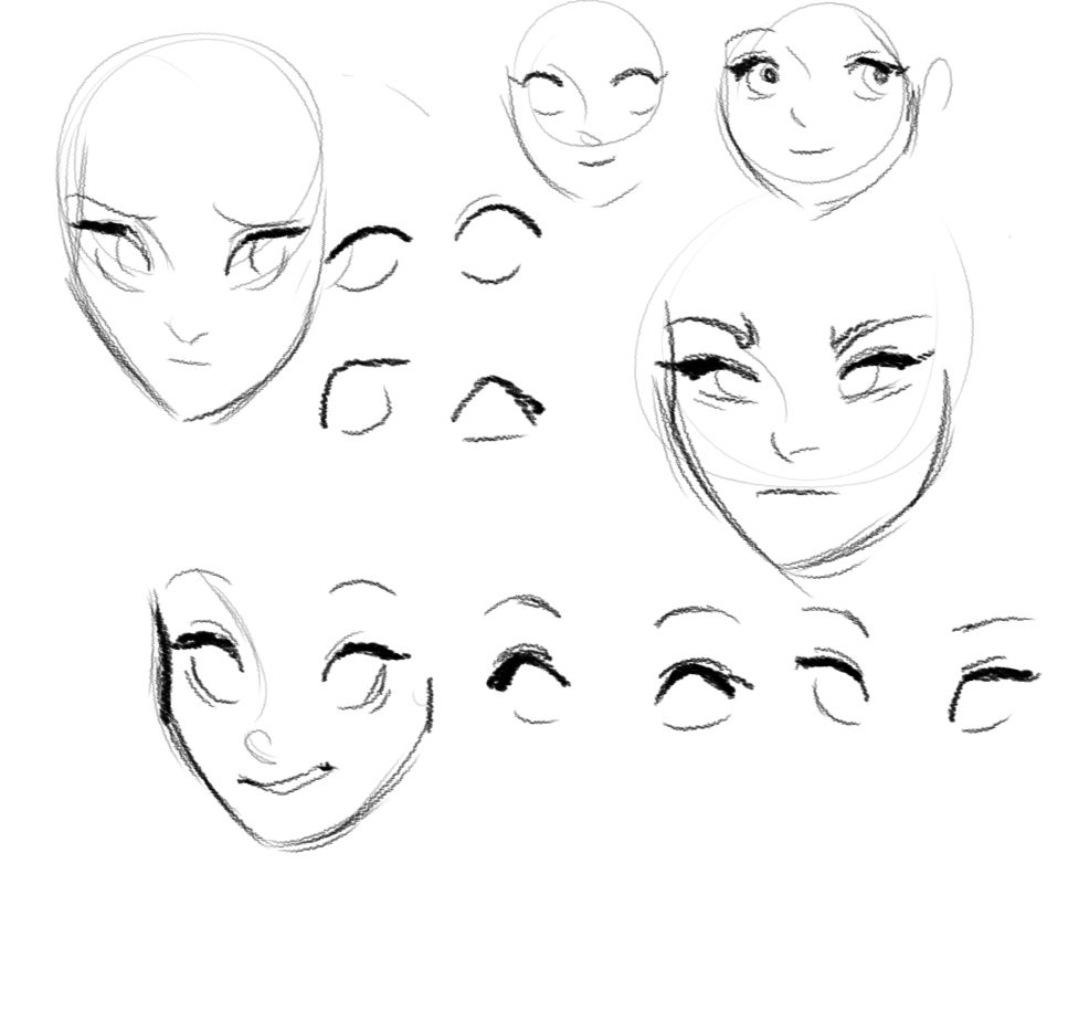 Drawing Scribble Face : Tumblr m wga qfw kzo g babananas
