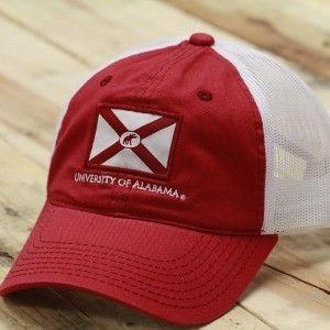 0da28da4f8985 ... closeout tuskwear alabama state flag trucker hat 7c8d1 22d3e