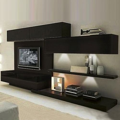 Modulares modernos muebles tv pinterest modulares for Muebles modernos living para tv