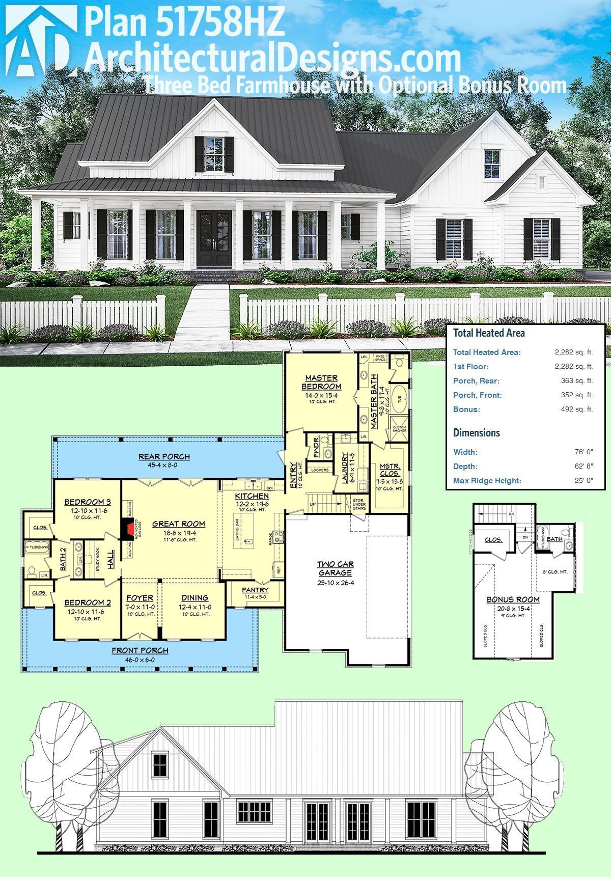 Add A 1 Car Garage And In Law Suite On The Outside Of The