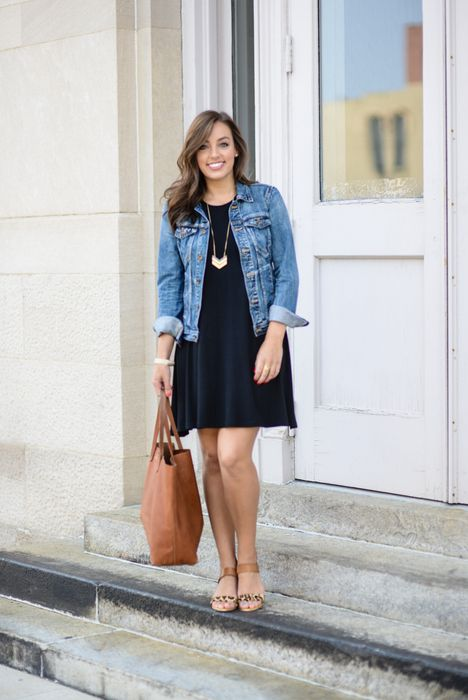 Swing Dress By Sharing My Sole | Navy dress outfits, How to