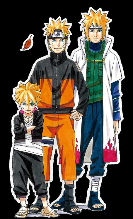 Cuarto Hokage (Padre de Naruto y abuelo de Boruto) - Naruto Uzumaki ...